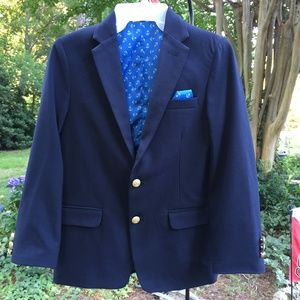 Crown & Ivy Navy Blue Sportcoat